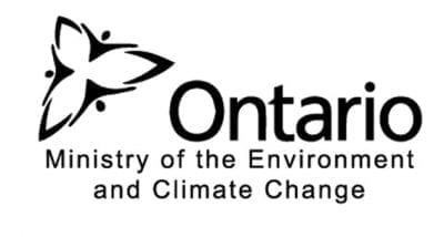 Ontario Ministry of the Environment and Climate Change Logo